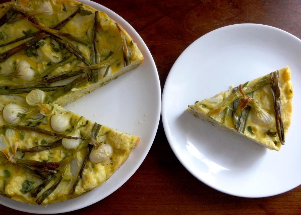 Tortilla au chou-fleur