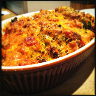 [Voedselzandloper Recept] Broccoli Gratin met Ham en Cheddar
