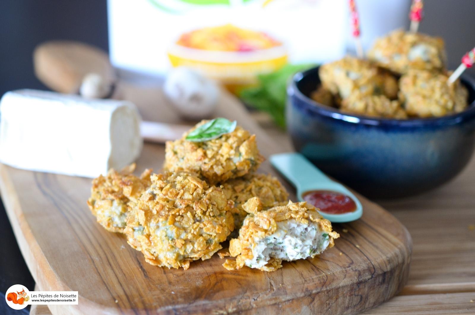 Nuggets croustillants de poulet Sans Gluten