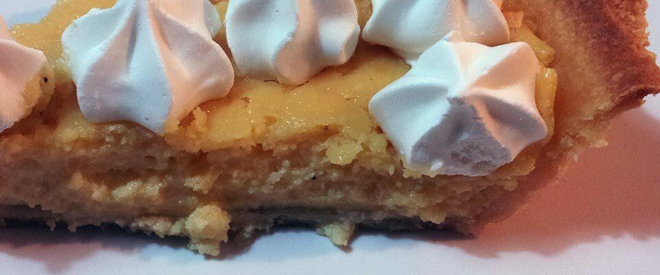 Pie de Limón con Leche Condensada y Yemas (horneado)