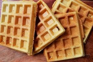 Waffles para niños