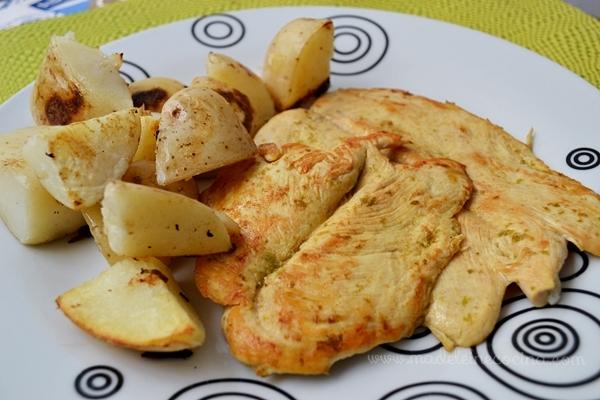Pollo con limón a la plancha