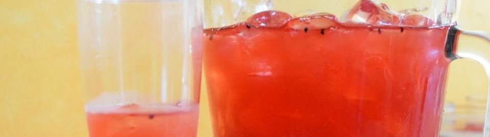 Bebida especial de pitaya y tequila