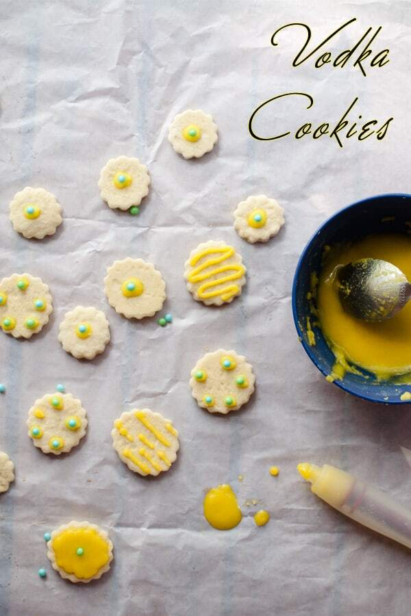 Vodka Cookies