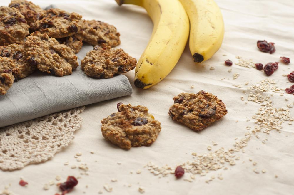 Cookie de banana, coco e mel