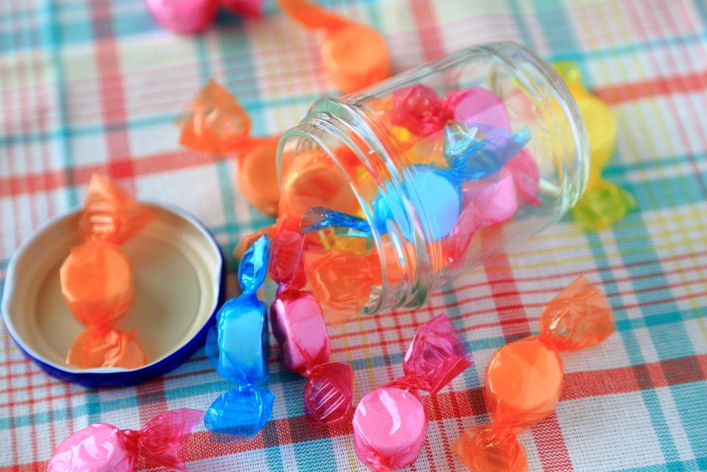 Açúcar não é amor para a criança