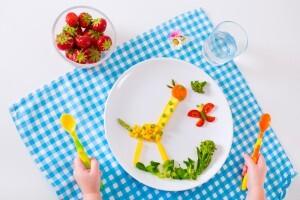 Alimentos que criança pode e deve comer