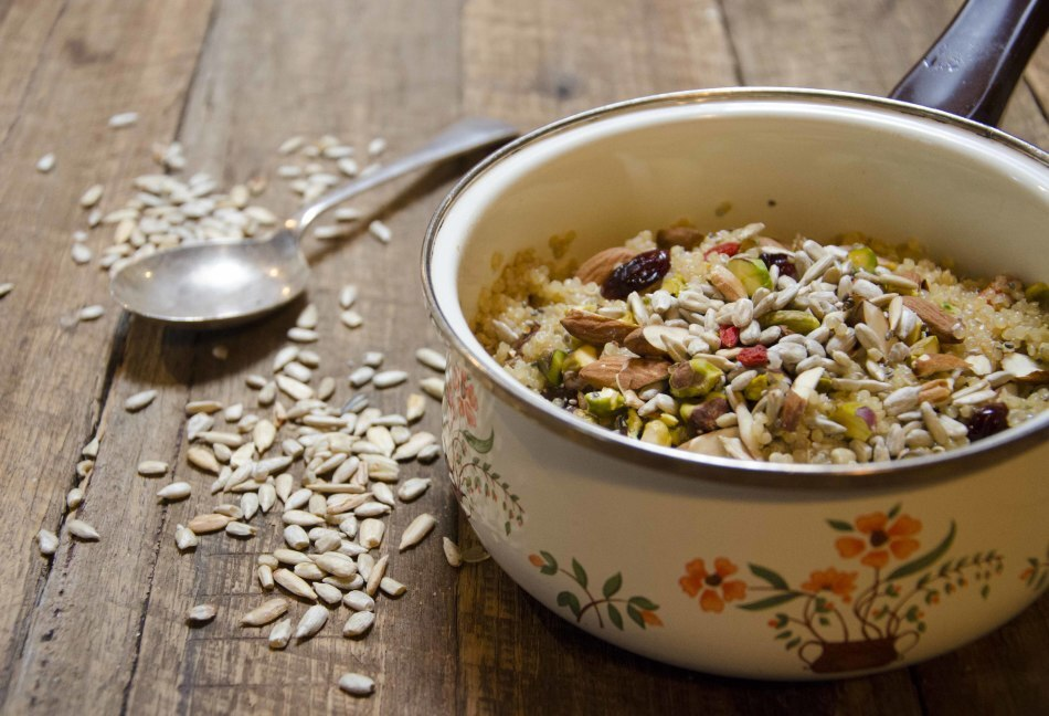 Receita de quinoa para café da manhã