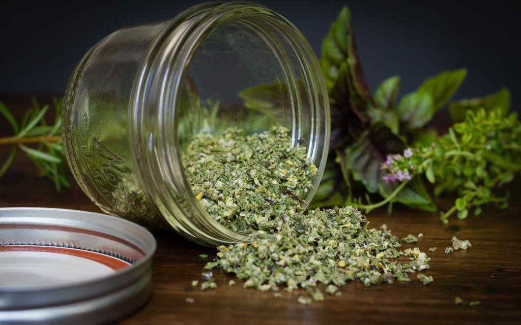 Receita de sal de ervas