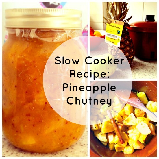 Tired pineapple? Turn it into pineapple chutney!