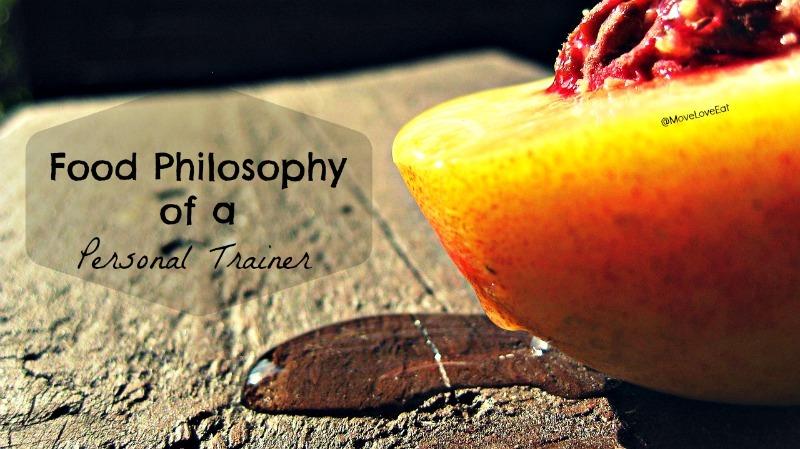 My Food Philosophy