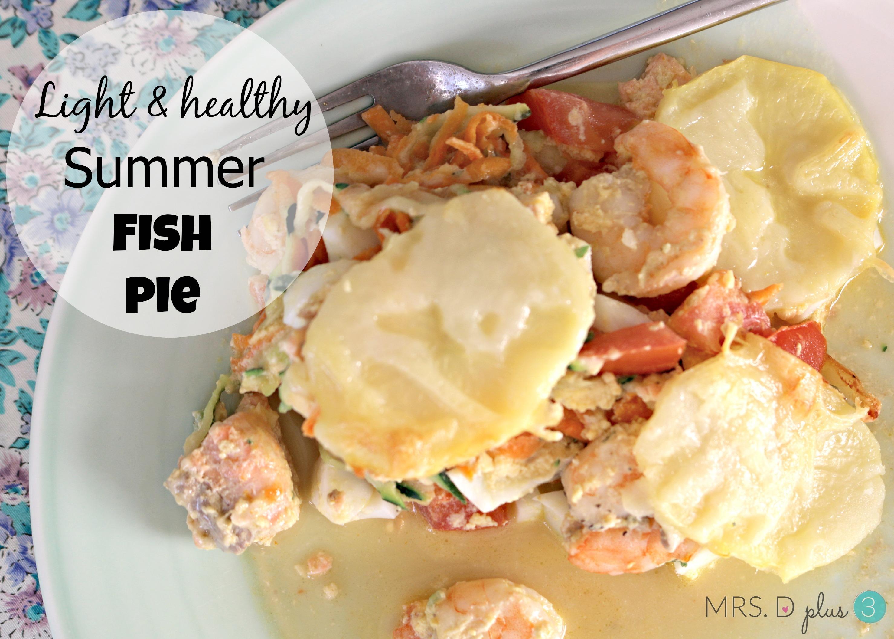 Jamie Oliver's Light & healthy 'summer' fish pie