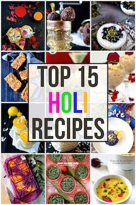 Top 15 Healthy & Modern Holi Recipes You Should Try This Year!