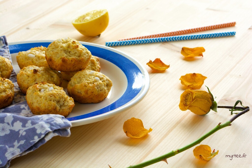 Des biscuits au citron (vegan)