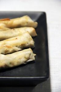 Spécialité turque : Boreks au fromage