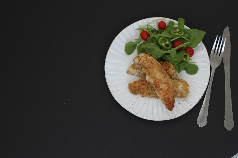 Oatmeal Crumbed Chicken Tenders