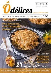 Magazine de cuisine Odelices n°21 – automne 2015