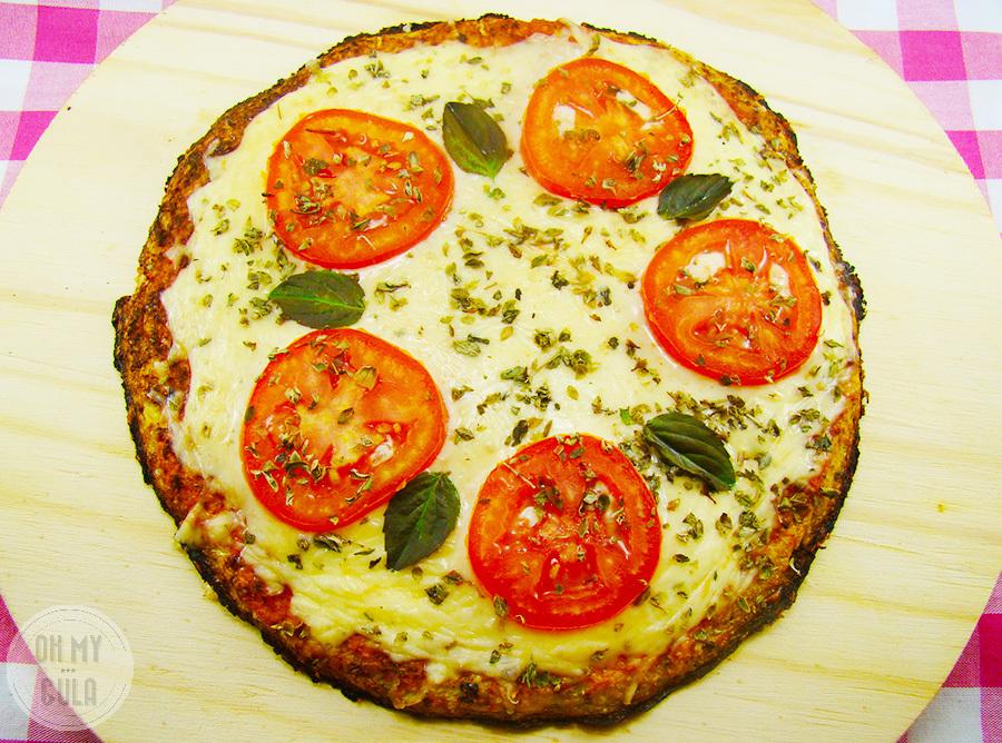 Pizza de Couve Flor – Sem Gluten!