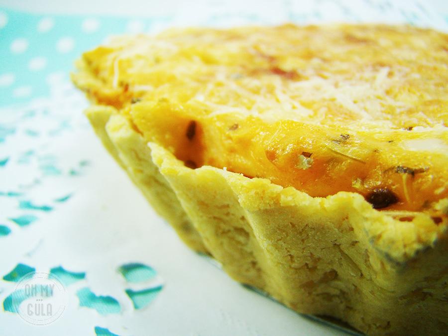 Quiche de Palmito – Sem Gluten!