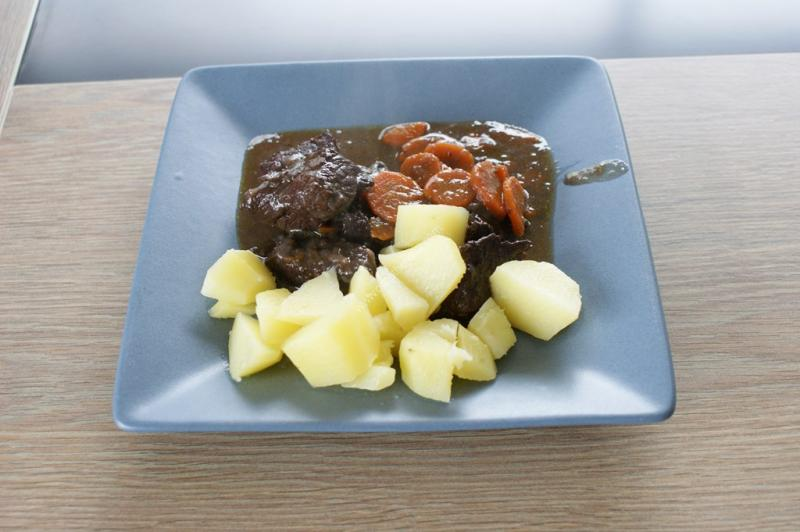 recette du jour: Boeuf bourguignon  au thermomix de Vorwerk
