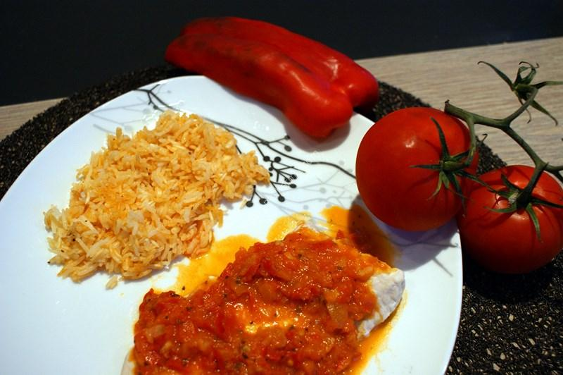 recette du jour: Escalope de poulet à la provençale  au thermomix de Vorwerk