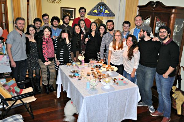 Party Time: Meus 25 anos em tons pastel + Dicas de Organização + Duas Receitas
