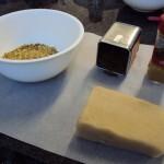 Pralines massepain et pistaches et épice