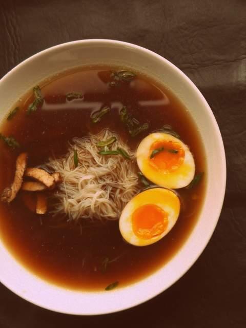 Sopa japo (falso Ramen)