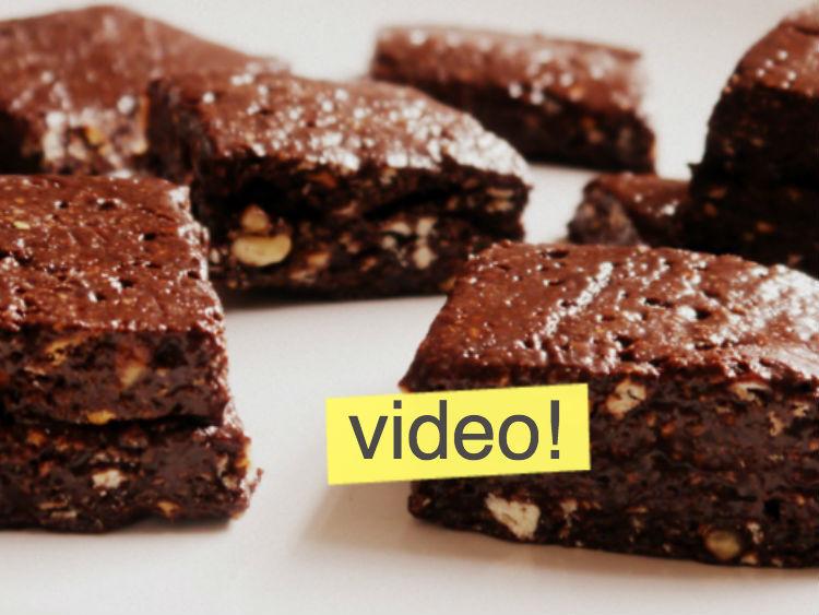 Brownies Caseros Sin Horno