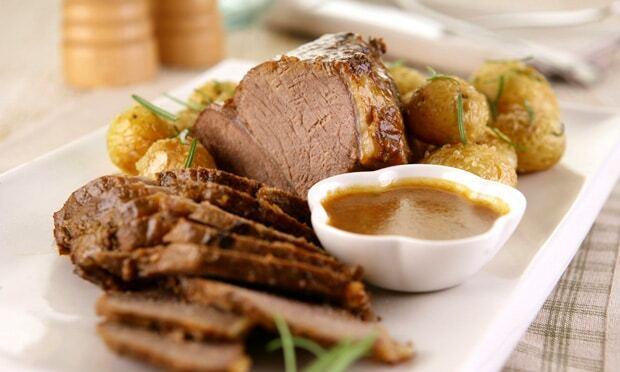Carne com Batata Crocante