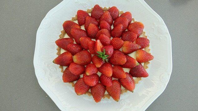 Torta de Morango 13