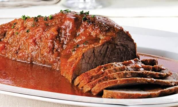 de carne assada na panela de pressão cupim