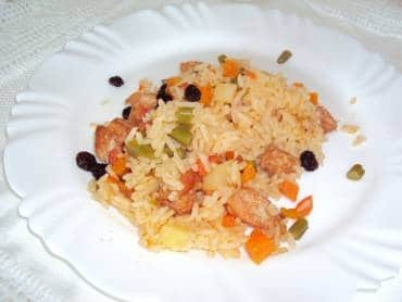 Arroz com Linguiça 11