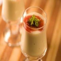 Mousse de Abacaxi com Graviola