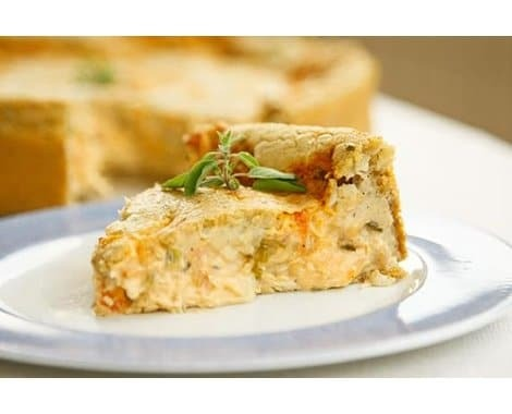 light de quiche de frango