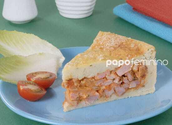 Torta de Batata com Linguiça