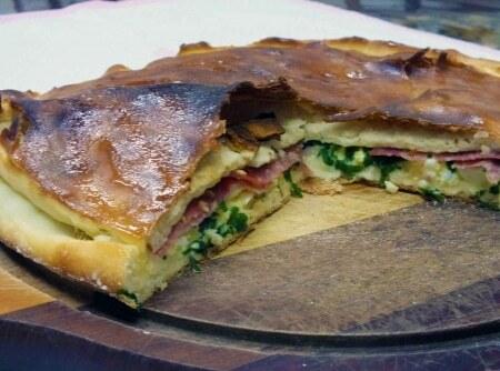 Pão Agridoce de Salame e Queijo Minas