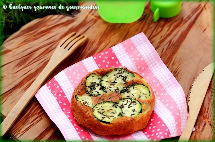 Gâteau au yaourt aux courgettes