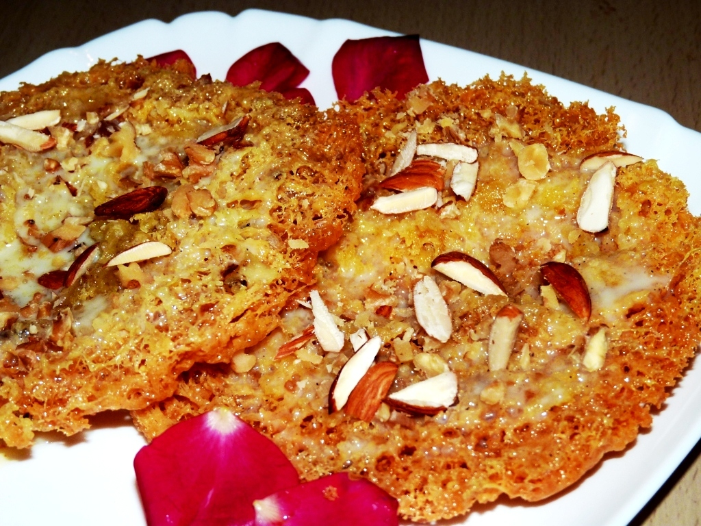 Rajasthani Ghevar Recipe|Step by step Pictures