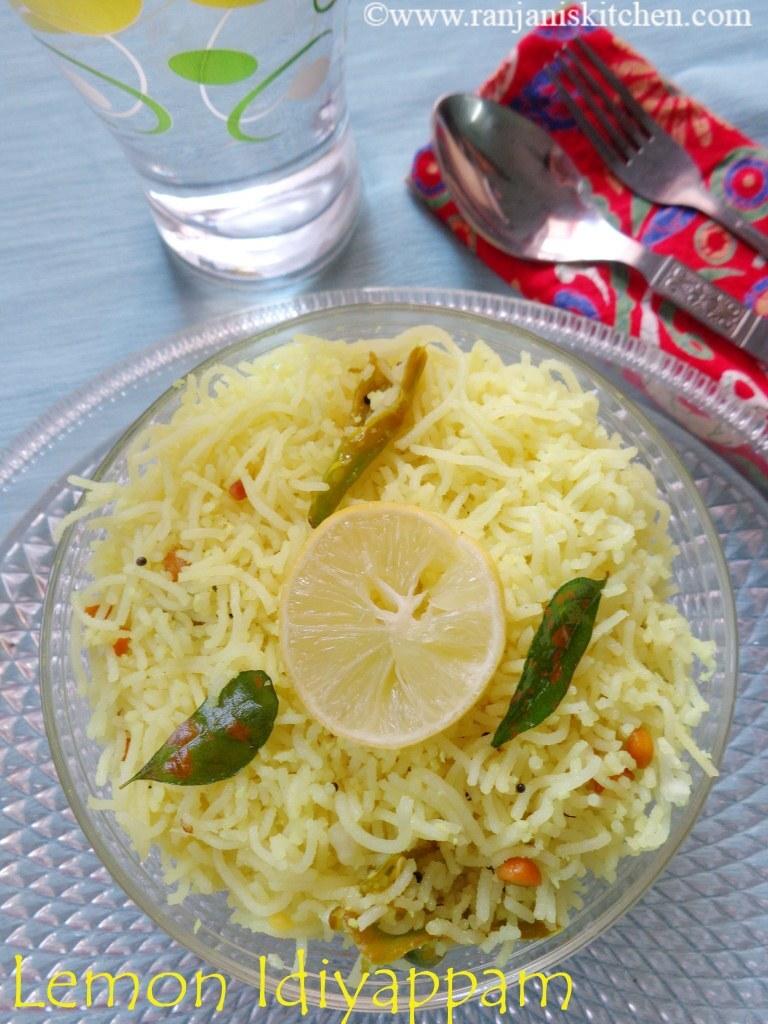Lemon Sevai/Lemon Idiyappam