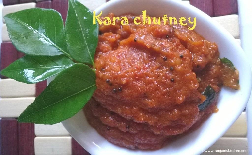 chettinad kara chutney