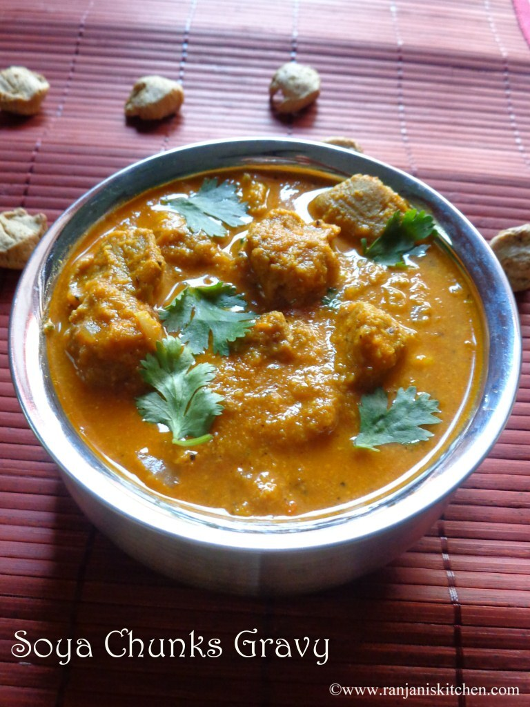 Soya Chunks Gravy – Meal Maker gravy