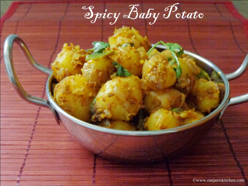 Spicy Baby Potato – Baby Potato Curry