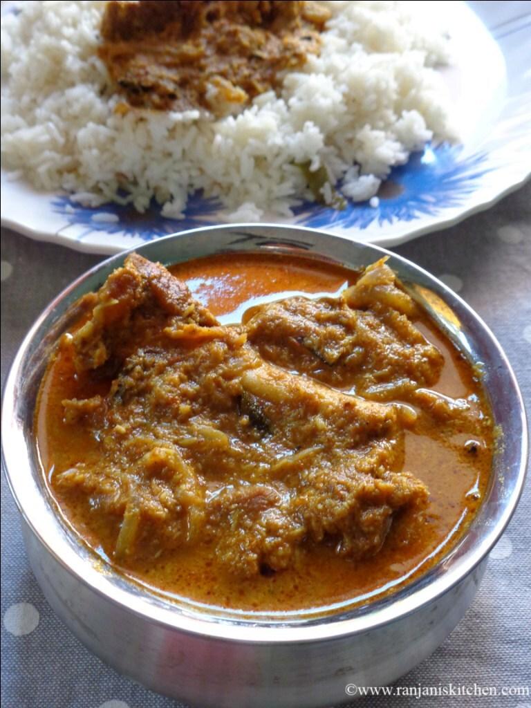 Mutton Kuzhambhu – Mutton Gravy
