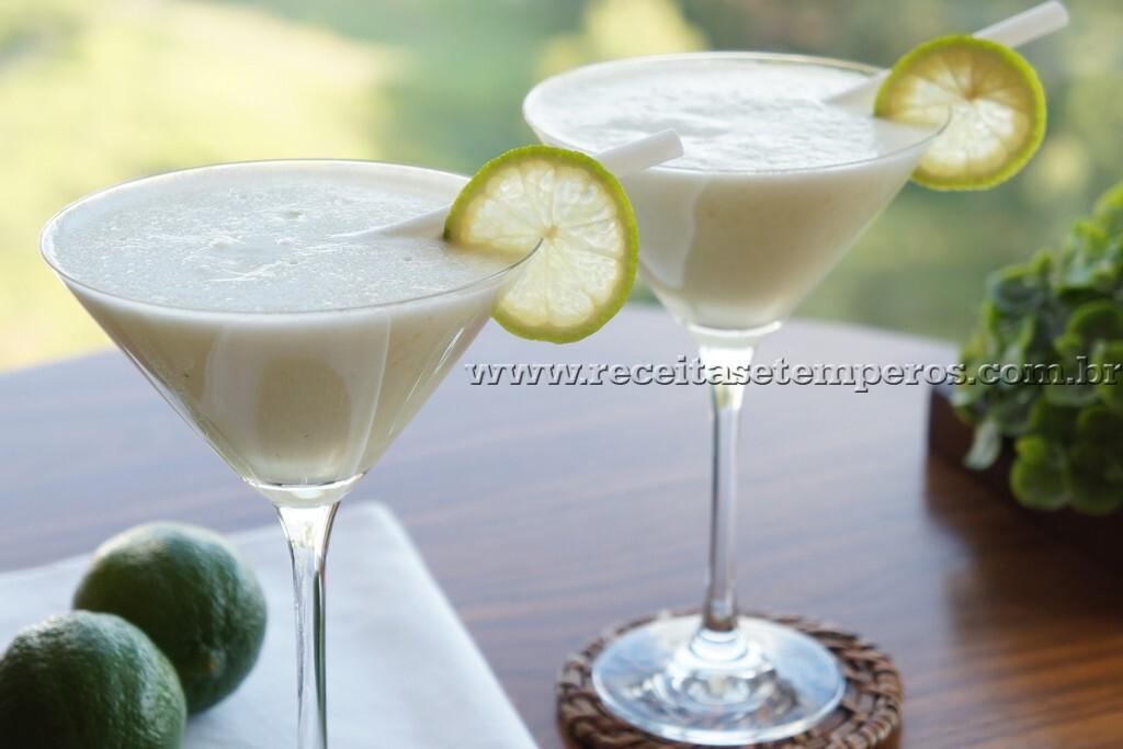 limonada suiça com limao galego