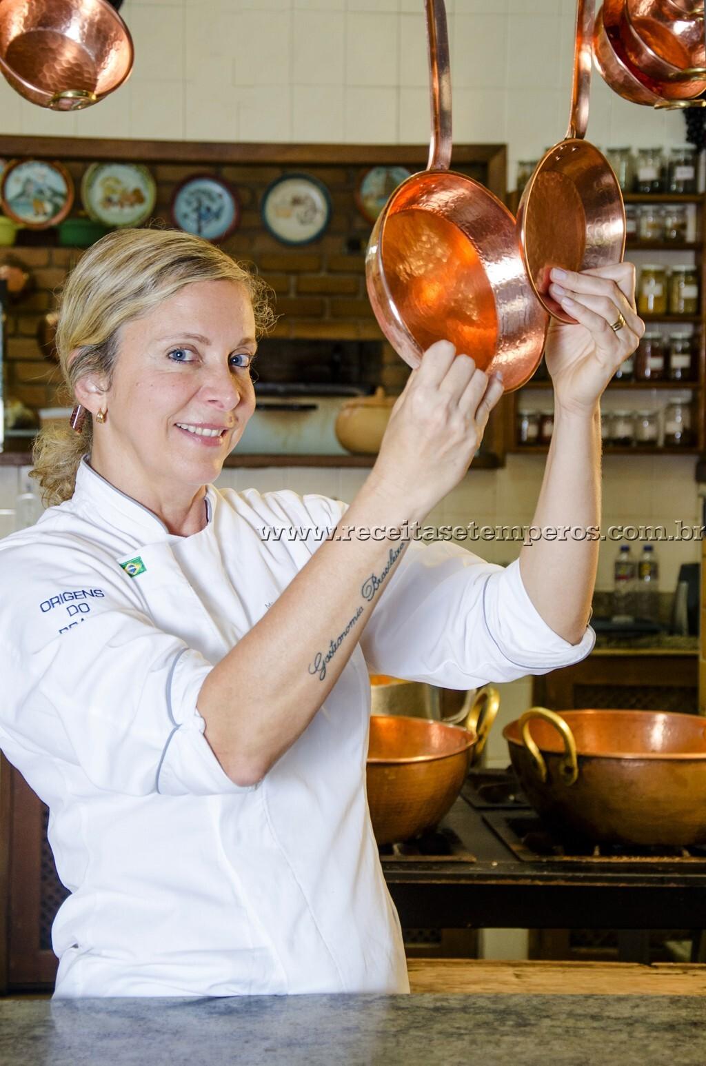 Entrevista com a Chef Mônica Rangel