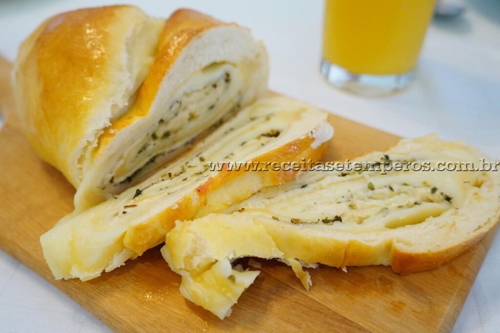 Pão de 3 queijos