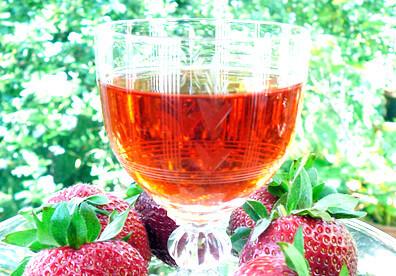 licor de morango caseiro
