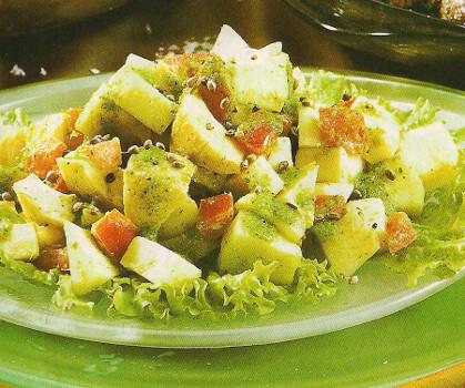 Receita de Salada Exótica