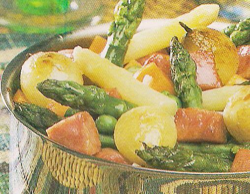 Receita de Salada Quente